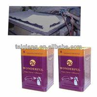 spray adhesive for sofa production bond sponge, fabric, wood