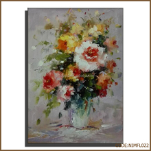 High quality interior wall flower painting