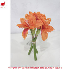 Hot sale real touch kaffir lily for Halloween and Christmas decoration artificial flower making