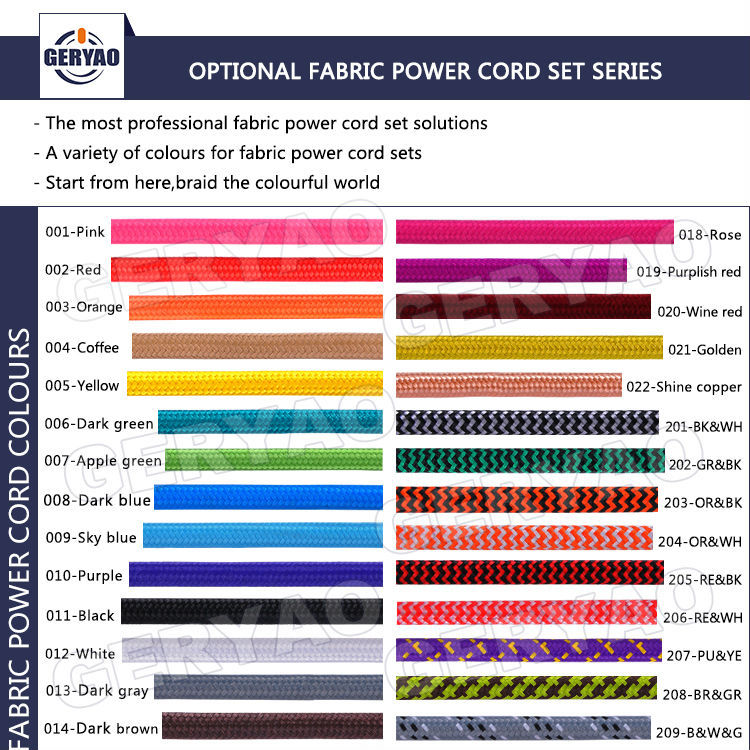 coloured fabric textile electrical wire with plug on off switch e27 rh alibaba com European Wiring Diagram Symbols Electrical Wiring Color Code Standards