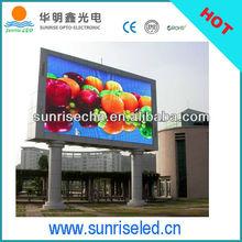 Shenzhen hot sale advertising p10 led soccer substitution board