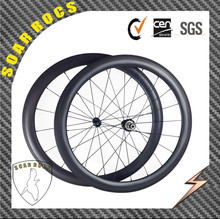 2015 SoarRocs 700C carbon wheelset U shape 50mm clincher road bike wheelset Chinese factory floor price with super light R36 hub