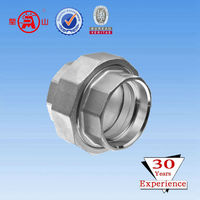stainless steel 304 306 tubes tee reducing elbow cross socket union fitting