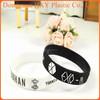 Hot!!!HXY Promotional cheap dark bracelet/ funny custom silicone wristband,fitness charm sports bands/the silicone bracelet