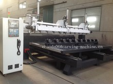multi spindle drilling cnc machine balusters wood, cnc legs