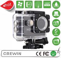 30M Waterproof sport dv camera HD 720P Manual Mini Sport dv in video camera with cmos sensor