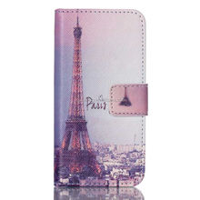 Colorful PU wallet leather case with stand for iPod touch 5, Flip Wallet case pouch for iPod touch 5