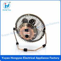 Super electrical metal mini usb fan usb mini fan 2014 hot sale electric fan mini usb