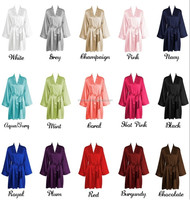 factory paypal wholesale supply customize size plain color bridesmaid robe