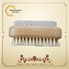 bamboo pumice stone nail brush ,hand washing nail brush wholesale, brush nail