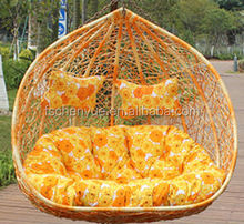 double people sex swing indian swing/nest swing/round rattan outdoor bed outdoor swing