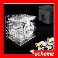 Uchome Money Maze Coin Box Puzzle Game Prize Saving Bank money box