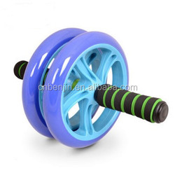 NEW AB ABDOMINAL EXERCISE STOMACH TONE ROLLER WORKOUT WHEEL FITNESS