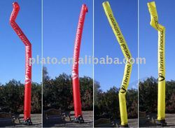 Lovely Indicating various colors single leg Inflatable pillar
