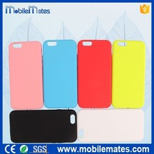 for iPhone 6 Silicone Case Mix Color, Newest Coming Phone Accessories Soft Silicon Case for iPhone 6