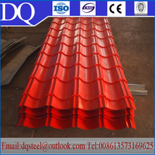 Roofing sheet material CE/GIS metal curved galvalume roofing sheets