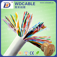 Multi pair telephone cable, outdoor connecting telephone wire, underground telephone cable color code