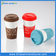 silicone heat resistant cup holder plastic cup holder