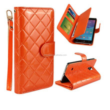 Well tested high quality pu leather cell phone cover case for samsung s5