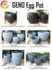 New style stainless steel planter , Customized Flower Pot , garden pots
