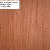 F/B ordinary plywood Quarter sliced sawn cut Sapele mahogany/Scented mahogany/Sapelli nature veneer faced plywood board panel