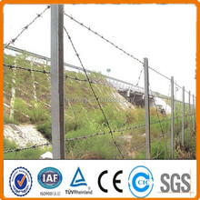 Barbed wire spools,barbed wire post / pvc coated barbed wire