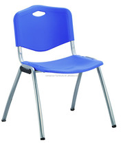 Polypropylene with Metal chrome legs plastic waiting chair PC113