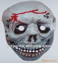 custom plastic mask pvc mask scar mask