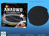 Ghana Market China Factory Anadwo Black Micro Smoke/Smokeless Mosquito Coil