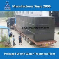 ETP domestic effluent water treatment plant