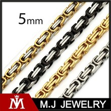 Wholesale jewelry men's necklace chain designs stainless steel chain