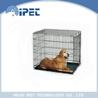 Ipet medium metal solid pet crate kennel for dogs