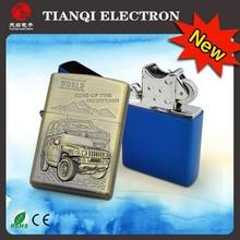 2015 Windproof USB Cigarette Lighter Electronic Lighter No Gas
