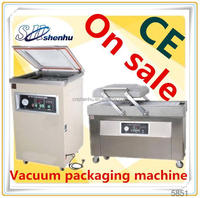 hot selling semi automatic vacuum clothes bag packaging machine for fruit SH-300T