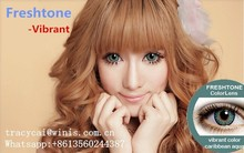 FreshTone vibrant contact lenses cosmetic color contact lens/ wholesale colored contacts