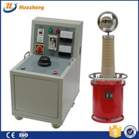 Large Capacity 100kv High Voltage AC Testing Transformer