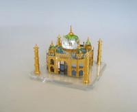 India Crystal Taj Mahal Model