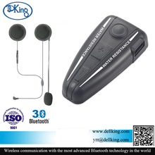 Motorcycle Bluetooth 3.0 Communication System with Advanced Noise Control