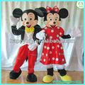 hola en71 adultos de dibujos animados de mickey minnie mouse traje de la mascota
