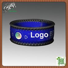 Negative ion neoprene wristband for sports