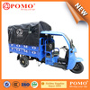 Peru Popular Semi-Closed Water Proof Gasoline Big Power Middle Engine 250CC Water Cool Carga Adultos Triciclo