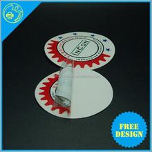 Best Sell Custom Waterproof UV Inks Self Adhesive PVC phone sticker