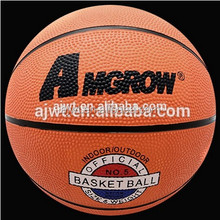Best promotional rubber basketball #5 with logo