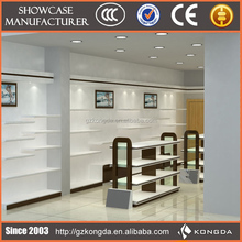Fashional design display case for shoes,retail shoe rack display
