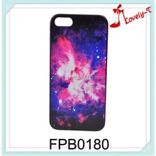 China fashion design low price 3d mobile phone shell wholesale starry sky cell phone covers