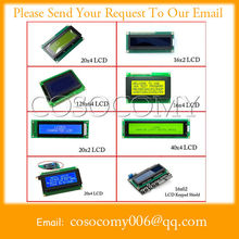 We can supply character LCD display module 16x2 20x4 128x64 20x2 40x4