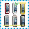 aluminum waterproof case for iPhone 6 Plus, for iPhone 6 Case Metal Gorilla Glass Cover