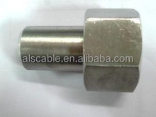 304 Stainless Steel Pressure Gauge Welding Connector