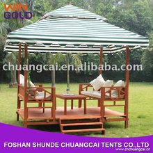 Chinese Outdoor Wooden Gazebo for garden