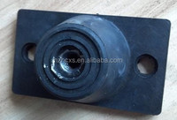 Rubber feet stands JD Rubber mount hvac sound eliminator applied for inductrial machinery 100*58*430MM with M10 thread